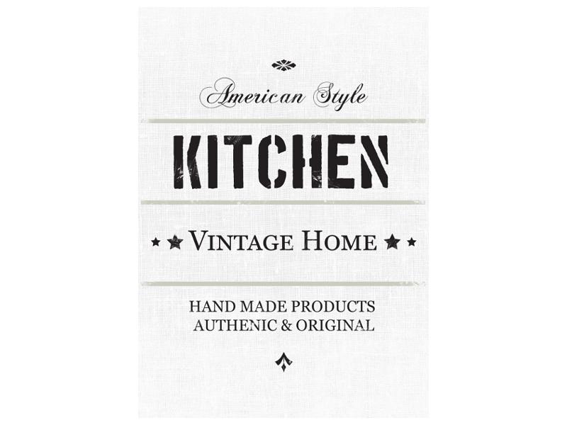 bild leinwand keilrahmen american style geschenk. Black Bedroom Furniture Sets. Home Design Ideas