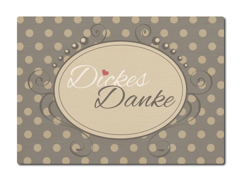 luxecards postkarte aus holz dickes danke geschenk spruch dankesch&ou