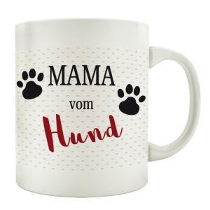 TASSE Kaffeebecher MAMA VOM HUND Tierisch Henkelbecher...