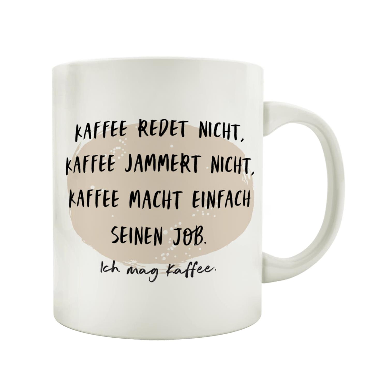 TASSE Kaffeebecher DU KANNST ENDE DER GESCHICHTE Kaffeetasse