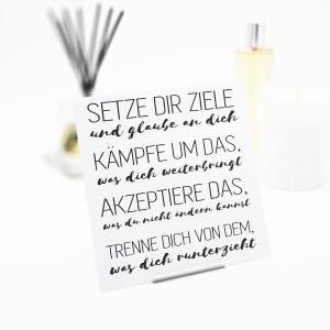 Interluxe Duft-Sachet - Setze dir Ziele - Duftbeutel mit...