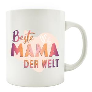 TASSE Kaffeebecher - Beste MAMA der Welt - Lieblingstasse...