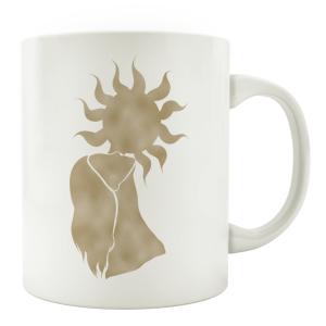 TASSE Kaffeebecher - Sonne Frau - Lieblingstasse,...