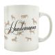 TASSE Teebecher HUNDEMAMA Geschenk Kaffeetasse Henkelbecher Shabby Haustier